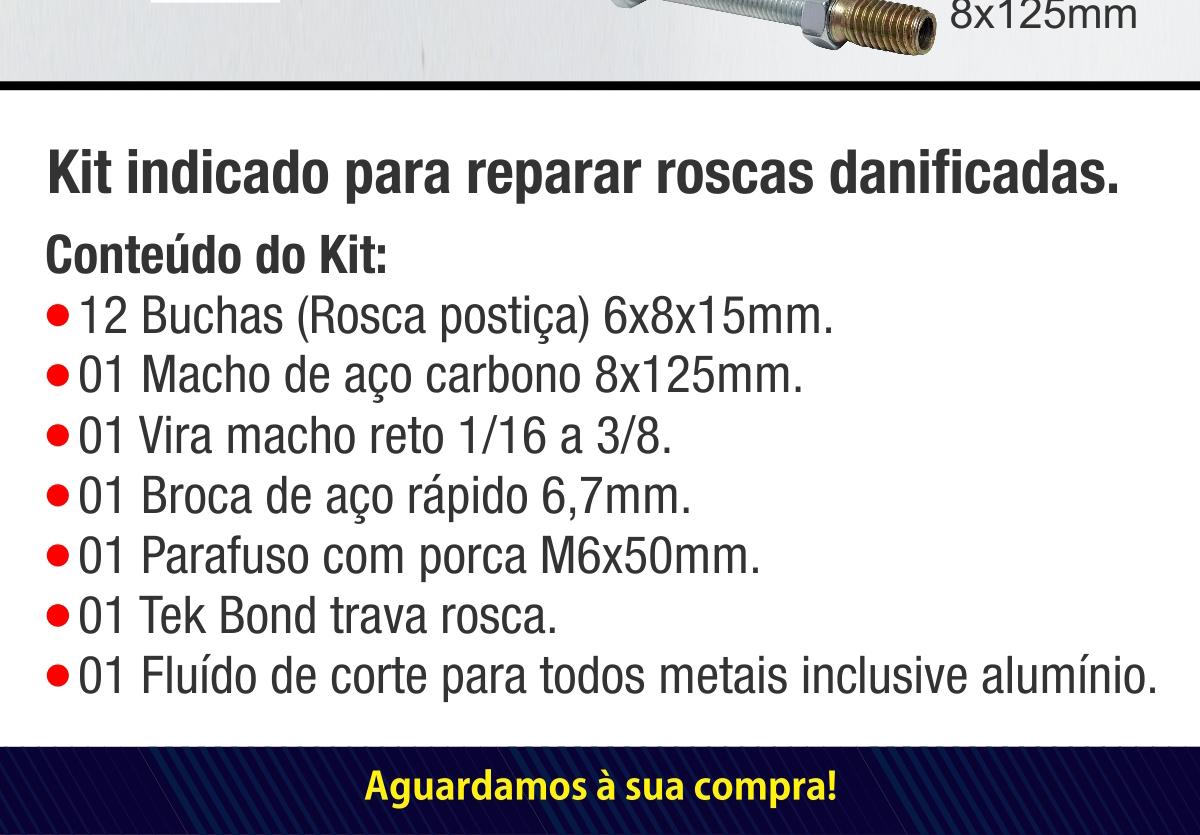 Kit para reparo de rosca